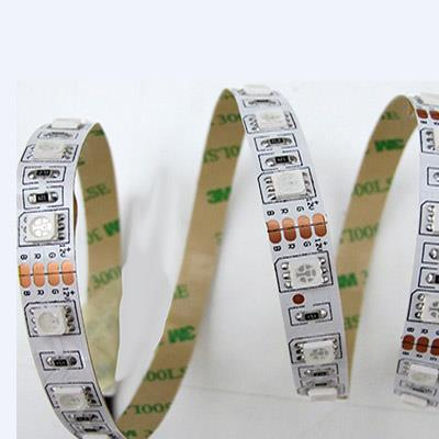 Strip Led IP20 RGB - 14,4 W/m - 60 Led/m - Led 5050