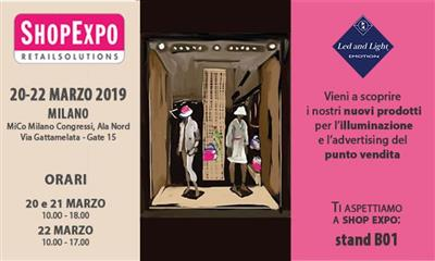 LED AND LIGHT A SHOP EXPO: NUOVE PROSPETTIVE A LED